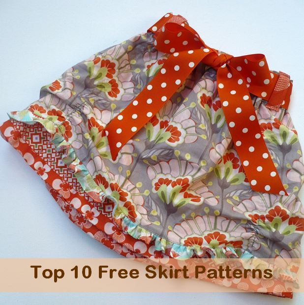 top 10 skirt sewing patterns
