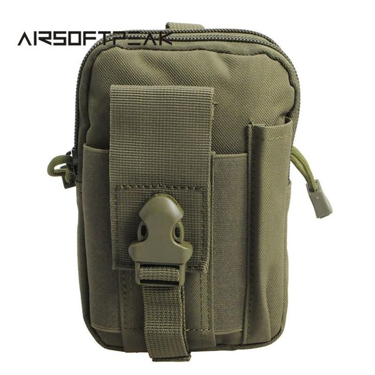 Tactical Molle Pouch Bag Great for Phone Case Storage and Protection