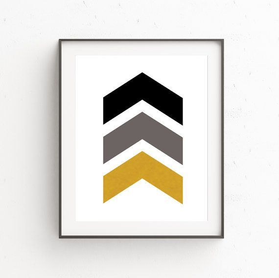 Digital Download   Print Scandinavian   Geometric Poster Art