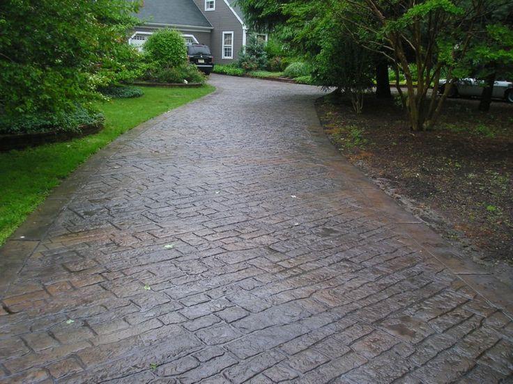 cement Driveway Ideas 28 Images Best 25 Concrete