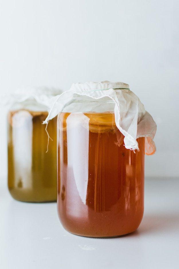Can You Get Drunk Off Kombucha Kombucha Tea Recipe Kombucha Benefits Kombucha Recipe Fermented Foods