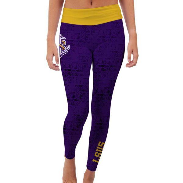 LSU Shreveport Pilots Women's Made Loyal Leggings - Purple - $54.99