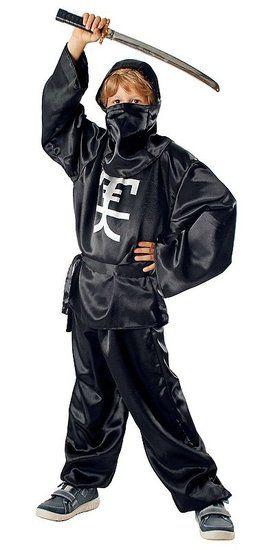 Zwart Ninja kostuum voor kinderen #ninja #ninjapak #ninjakostuum