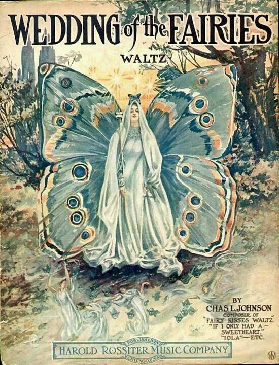Free vitage printeble (wedding of the fairies)