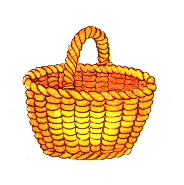 картинки нарисовать корзину милаха очень активен