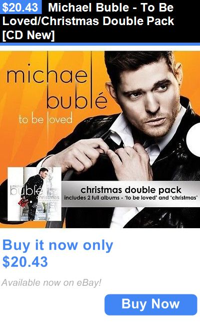 Christmas Songs And Album: Michael Buble - To Be Loved/Christmas Double Pack [Cd New] BUY IT NOW ONLY: $20.43