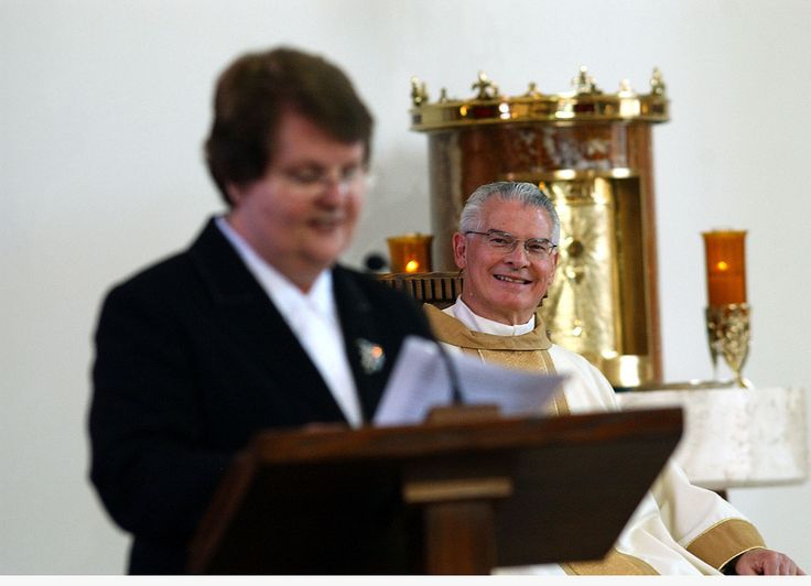 https://flic.kr/p/6wQ7yZ | Father Roger & Our Pastoral Minister | Photos by Tim McKenna.