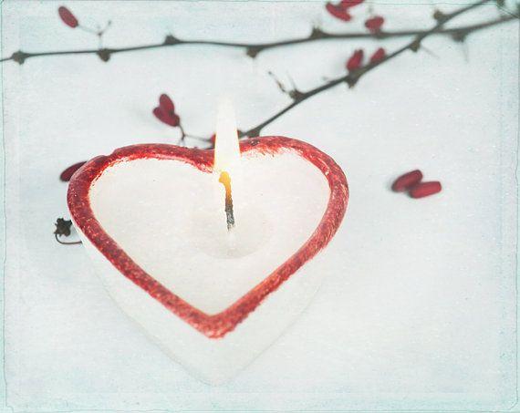 Calm and Peace, SPA Photography, Candle, Home Decor, Shabby Blue Red, Bathroom Decor, Nursery Room, Fine Art