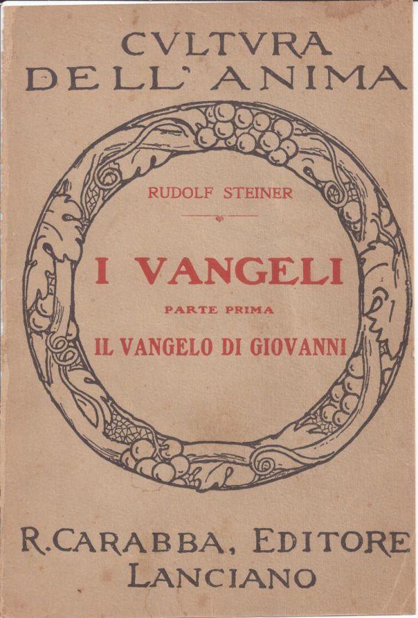 Il Vangelo di Giovanni - o.o. 103 (Rudolf Steiner) - copertina originale