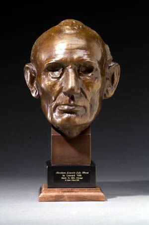 The Digital Research Library of Illinois History Journal™: Abraham Lincoln Life Masks