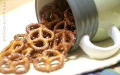 Addicting Pretzels: Ranch seasoned pretzels are the perfect salty snack, exploding with buttery Ranch, dill and garlic flavors.