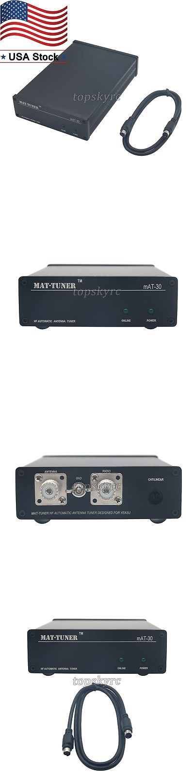 Tuners: Mat-30 Hf Ham Radio Auto-Tuner 120W Auto Tuner Automatic Antenna For Yeasu Us -> BUY IT NOW ONLY: $169.9 on eBay!