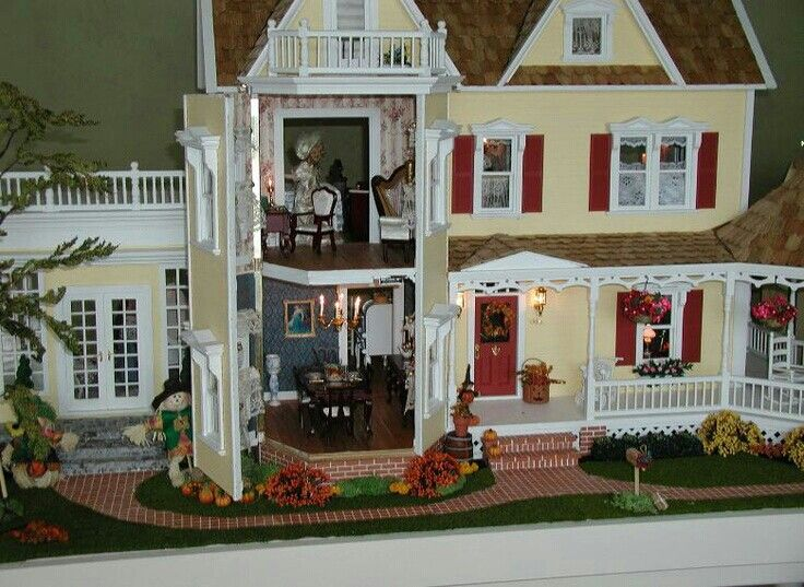 133 best doll house images on pinterest doll houses dollhouses and dollhouse ideas - The dollhouse from fairy tales to reality ...