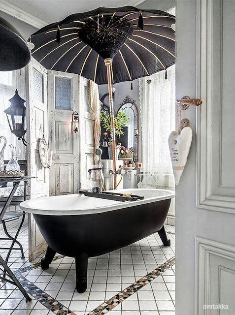 Best 25+ Black shabby chic ideas on Pinterest Metallic wedding - shabby chic badezimmer