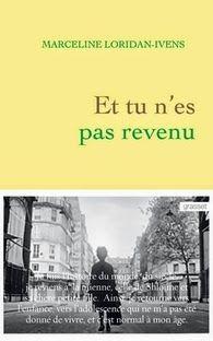 Mon avis: Et tu n'es pas revenu, Marceline Loridan-Ivens ~ Le Bouquinovore