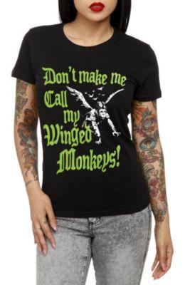 The Wizard Of Oz Winged Monkeys Girls T-shirt