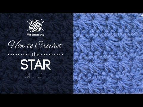 How to Crochet the Star Stitch - YouTube