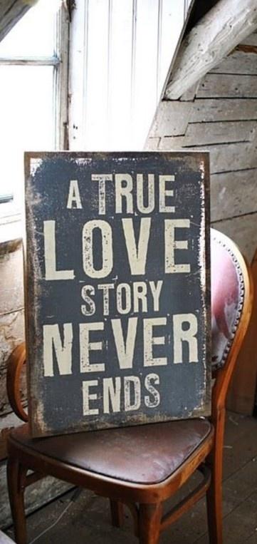 """True love stories never have endings"" ~ Richard Bach • poster: Rony Zmiri on Bigstock http://www.bigstockphoto.com/image-92072630/stock-photo-true-love-never-ends"