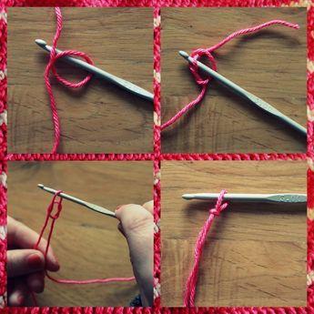 Wil je haken leren? Kijk dan eens op deze blog van Huis van Belle en leer alles over lossen, vasten en stokjes. How to crochet.