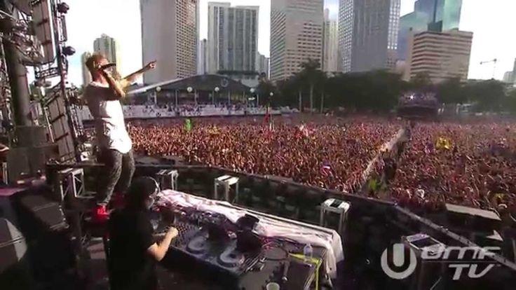 Jack U (with Skrillex) Ultra Music Festival 2014