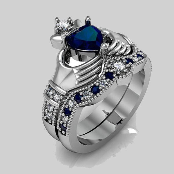 Cheap Sterling Silver Claddagh Ring
