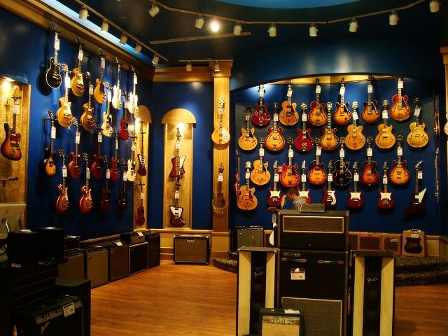 One day you might have this many guitars!