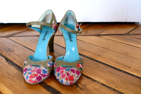 chaussures liberty Cacharel
