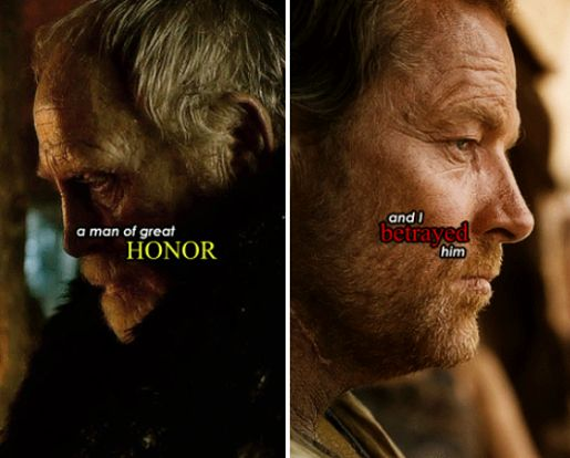 Photo: «And your father, Jorah the Andal, was he a warrior also?»   «Still is.»  Vio.