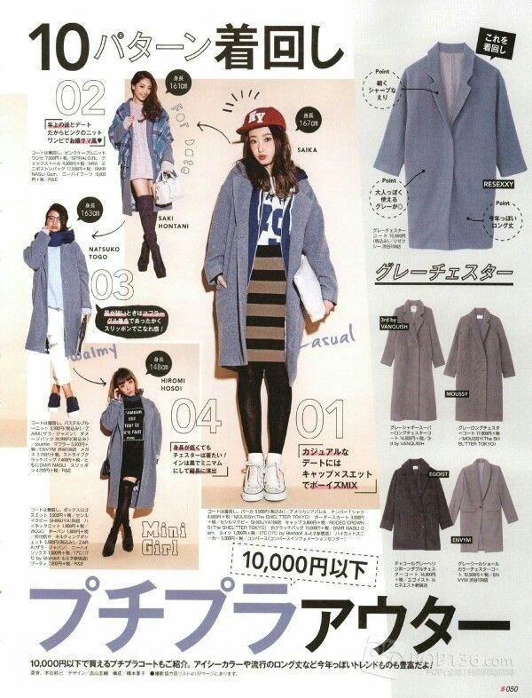 Japanese magazines fashion