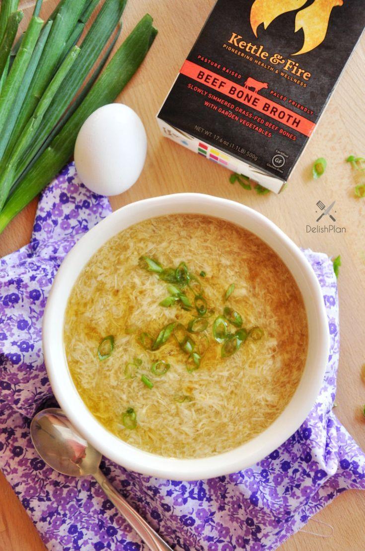 5-Minute Egg Drop Soup Recipe