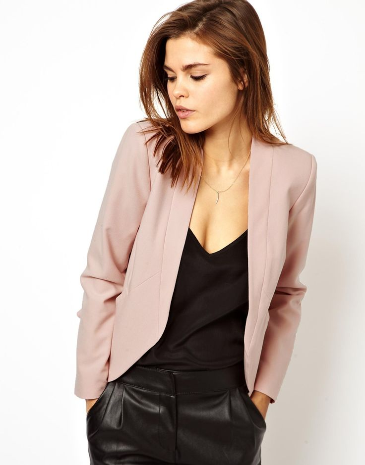 Blazer to smarten day outfits. Also for after work events over dress or with pants