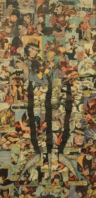 FREAK LIKE US: Mike Alcantara: Collages de personajes Marvel