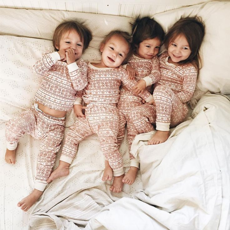 Is There Anything Cuter Than Sisters In Matching Pajamas