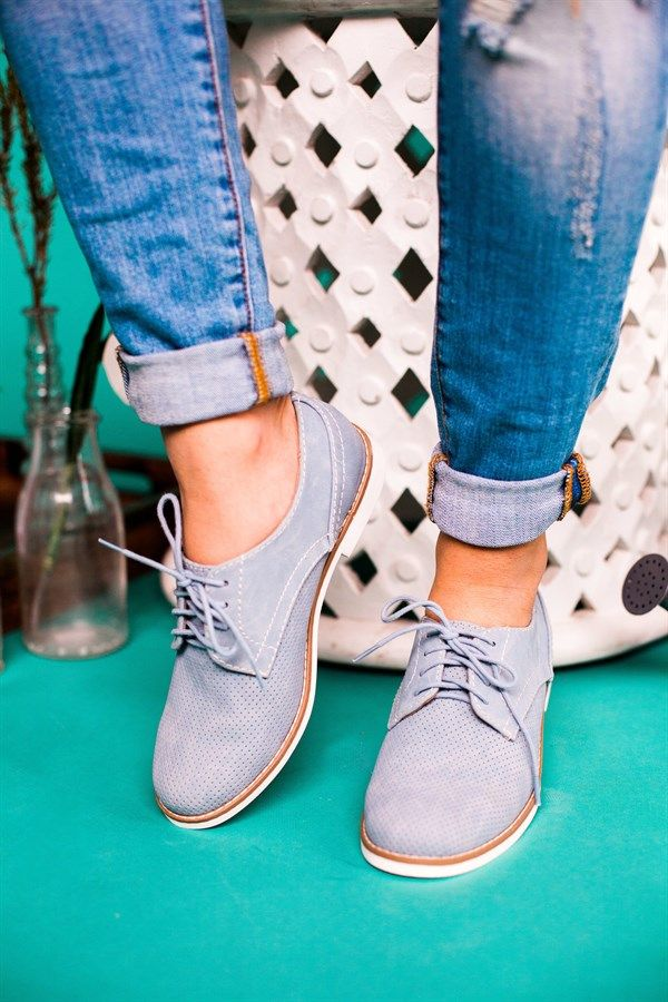 Oxford Style Flats | 5 Colors!