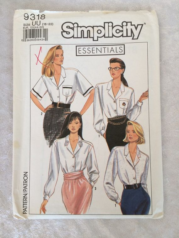 Vintage Simplicity Essentials Button Front by EMStreasureseekers
