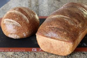 Pumpkernickel Round and Hearth Loaf - Diana Rattray