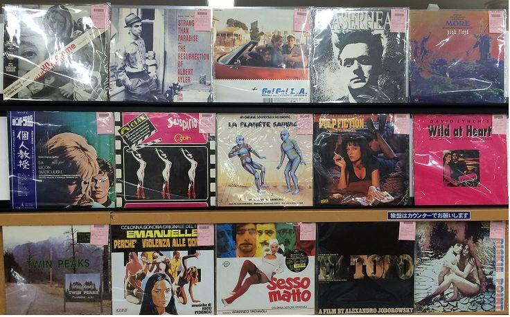 3月1日(土) 60年-70年代名画中心。中古映画サントラレコードセール。