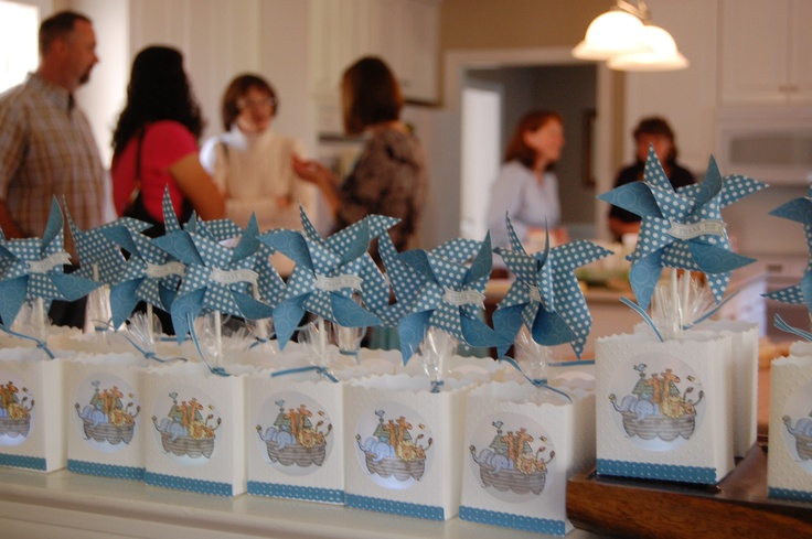 Best Last Minute Wedding Gifts: Baby Shower Favor Luminaries Using Stampin' Up! Products