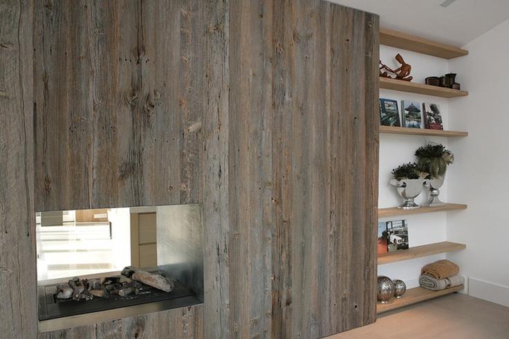 Interieur van Piet Jan van den Kommer   Tv-kast & openhaard / foto 1