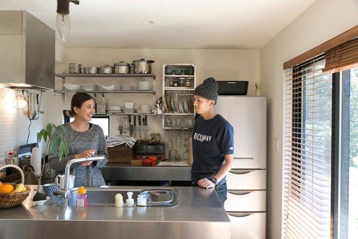 ENJOYWORKS/kitchen/エンジョイワークス/キッチン/リノベーション/renovation/SKELTONHOUSE/スケルトンハウス/造作キッチン /コの字型