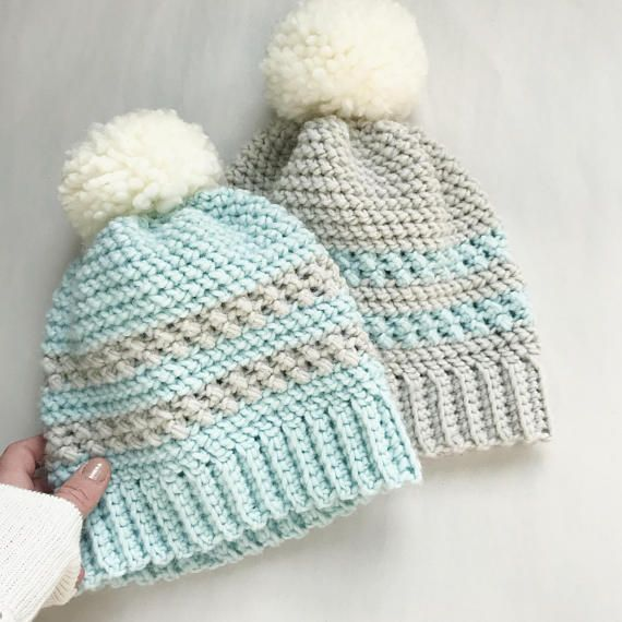 CROCHET PATTERN The Icelyn Crochet Hat Pattern Crochet Hat
