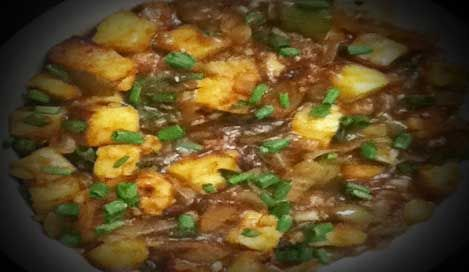 Chilli Paneer Gravy Recipe in Hindi