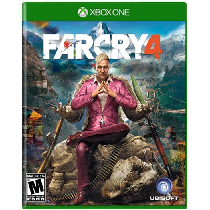 Xbox One Far Cry 4; Los jugadores se encuentran en Kyrat una región impresionante peligrosa y salvaje del Himalaya luchando bajo el régimen de un rey autoproclamado. Utilizando una amplia gama de armas vehículos y animales los jugadores podrán escribi