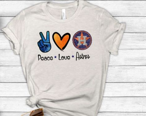 Download Peace Love Astros Sublimation Transfer | Peace and love ...