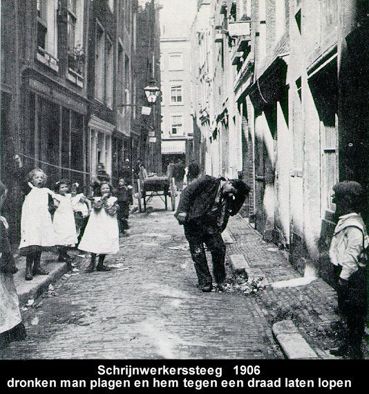 Schrijwerkersteeg 1906