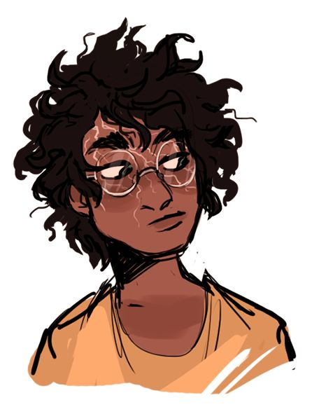 What if Harry's scar was more realistic across his face and less little lightning bolt? Pretty neat