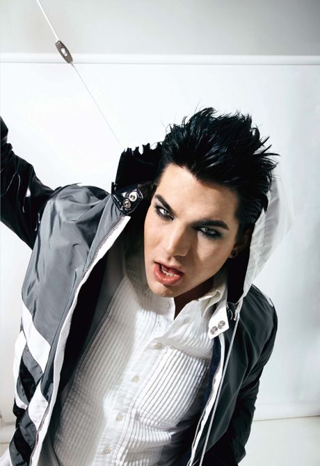 Adam Lambert. Love this pic!