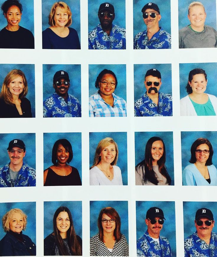 My friend is a teacher. His coworkers take Magnum PI and picture day very seriously.   http://ift.tt/1MhmJDk via /r/funny http://ift.tt/1q9a1vR  funny pictures