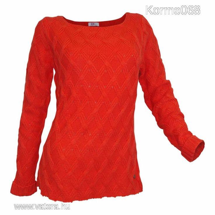 Meleg narancs pulóver    36/38        ÚJ ! Minőségi márka! - 5300 Ft - Nézd meg Te is Vaterán - Női pulóver - http://www.vatera.hu/item/view/?cod=2549342240