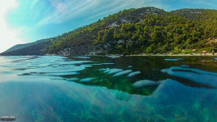 Pefkos beach, Skyros Greece